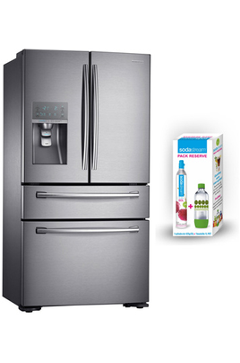 refrigerateur americain samsung rf24hsesbsr pack reserve sodastream 5035465. Black Bedroom Furniture Sets. Home Design Ideas
