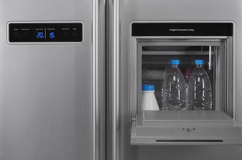 Refrigerateur americain samsung rs20brps 2543672 - Rangement frigo americain ...