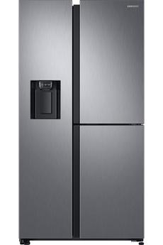 Volume 604 L - Dimensions HxLxP : 178x91.2x71.6 cm Réfrigérateur à froid ventilé 394 L Congélateur à froid ventilé 210 L Cavité Flex Zone - Technologie Twin Cooling