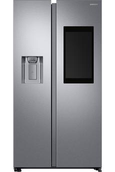 Volume 593 L - Dimensions HxLxP: 178x91.2x71.6 cm - A++ Réfriférateur à froid ventilé 383 litres Congélateur à froid ventilé 210 litres Divertissement : Musique, Radio & Vidéos