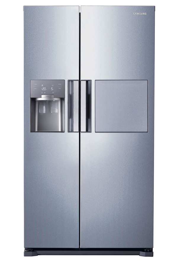 Refrigerateur americain samsung rs7687fhcsl 4009380 darty - Frigo americain dimension ...
