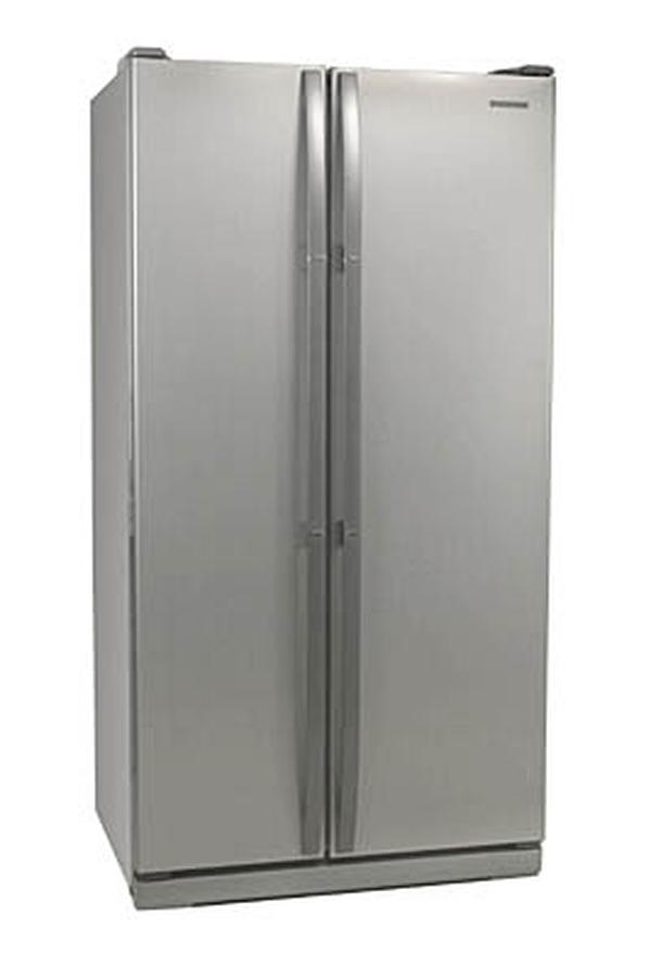 refrigerateur americain samsung rs 20 ncsl argent rs 20 1698630 darty. Black Bedroom Furniture Sets. Home Design Ideas