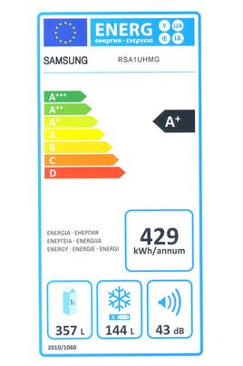 Refrigerateur americain Samsung RSA1UHMG