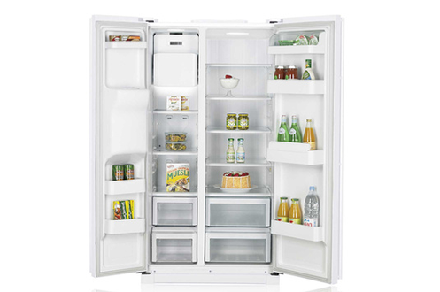 refrigerateur americain samsung rsa1utwp 3280098. Black Bedroom Furniture Sets. Home Design Ideas