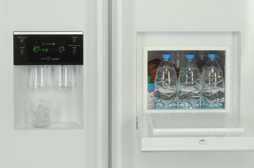refrigerateur americain samsung rsa1ztwp 2631105. Black Bedroom Furniture Sets. Home Design Ideas