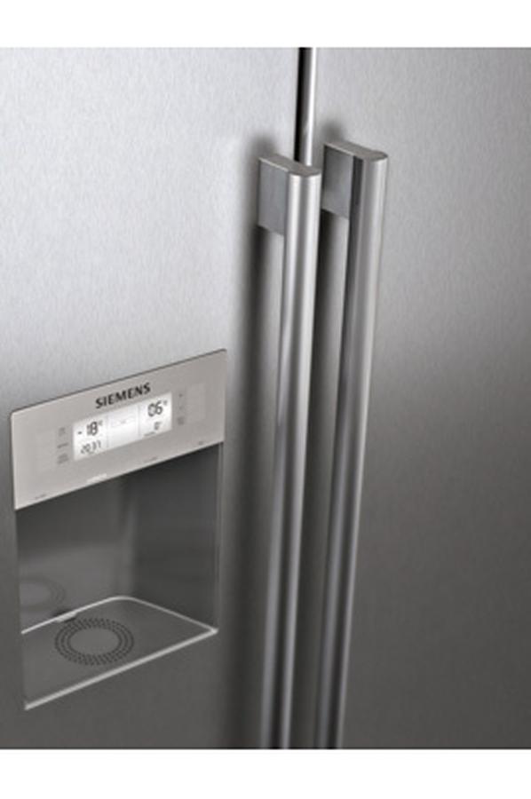 refrigerateur americain siemens ka62dp91 argent 3487440 darty. Black Bedroom Furniture Sets. Home Design Ideas