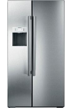 Refrigerateur americain KA62DP91 ARGENT Siemens