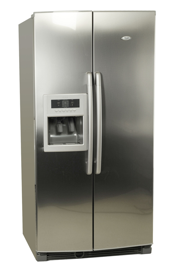refrigerateur americain whirlpool 20rid3s a inox. Black Bedroom Furniture Sets. Home Design Ideas