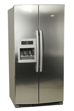 refrigerateur americain whirlpool 20rid3s a inox 20rid3s darty. Black Bedroom Furniture Sets. Home Design Ideas