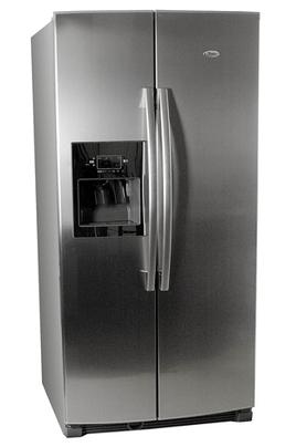 Refrigerateur americain whirlpool 25 ri d4 pt inox 25ri for Frigo americain miroir