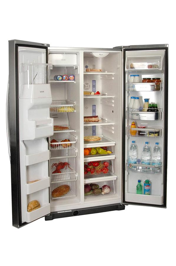 Refrigerateur americain whirlpool 25 ri d4 pt inox 25ri for Refrigerateur americain miroir