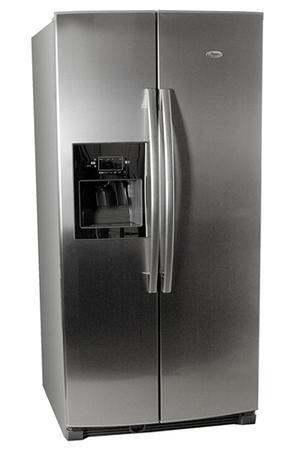 refrigerateur americain whirlpool 25 ri d4 pt inox 25ri d4 darty. Black Bedroom Furniture Sets. Home Design Ideas