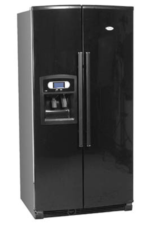 refrigerateur americain whirlpool s20 drbb noir s20drbb darty. Black Bedroom Furniture Sets. Home Design Ideas