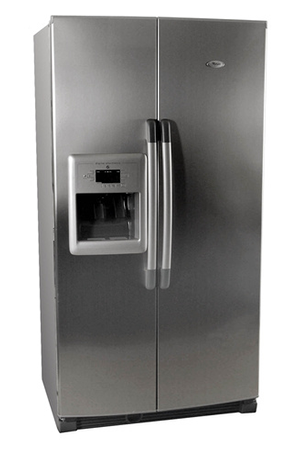 refrigerateur americain whirlpool us 20 ri inox us20riinox darty. Black Bedroom Furniture Sets. Home Design Ideas