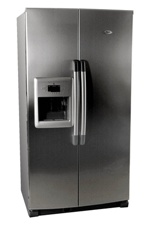 refrigerateur americain whirlpool us 20 ru argent us20ruargent darty. Black Bedroom Furniture Sets. Home Design Ideas