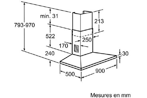 Bosch DWW 091451 INOX