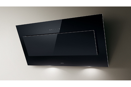 hotte d corative murale elica vertigo black 120 cm darty. Black Bedroom Furniture Sets. Home Design Ideas