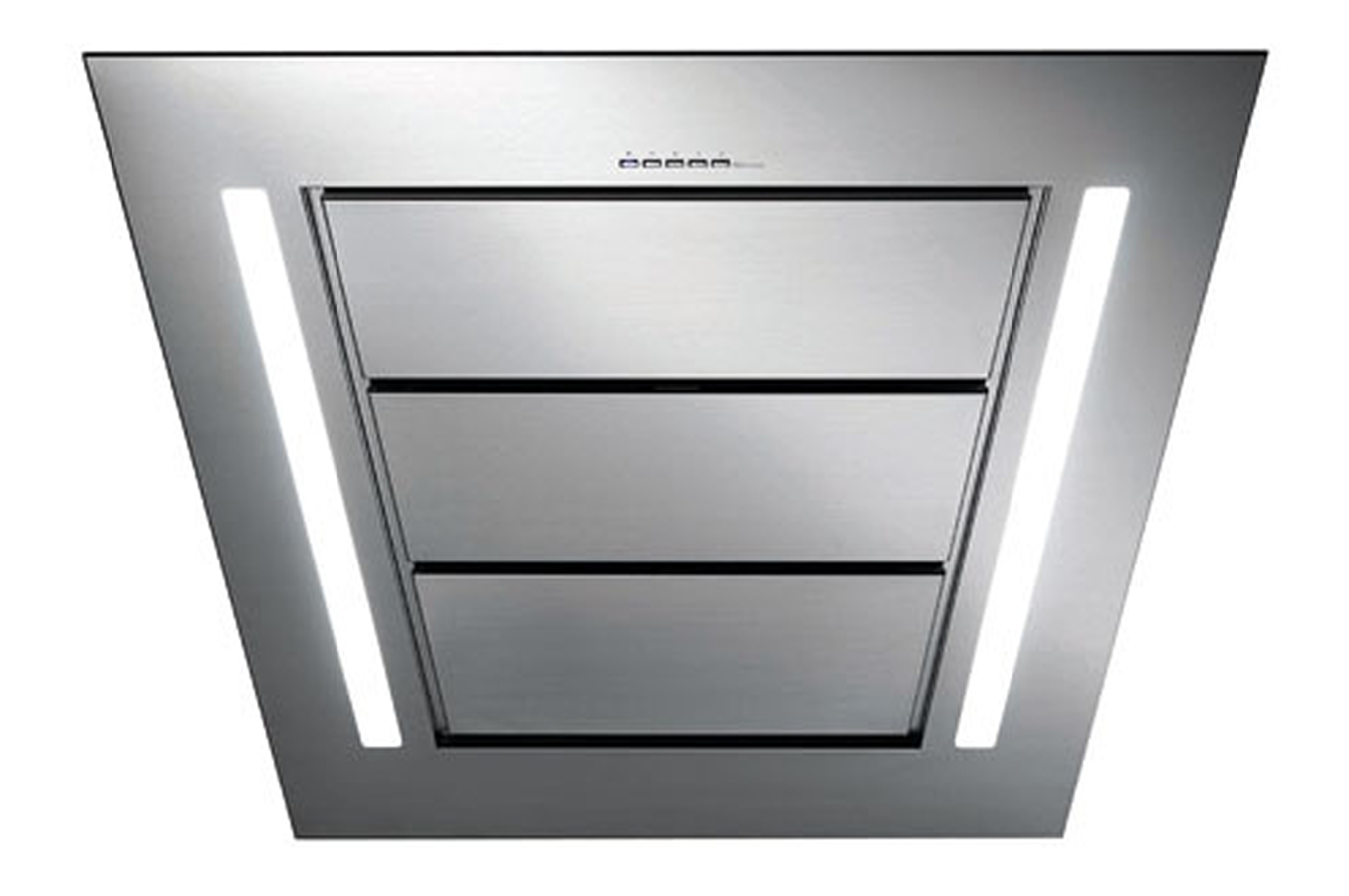 Hotte d corative murale falmec diamante 1430 inox 3349268 - Hotte decorative murale inclinee ...