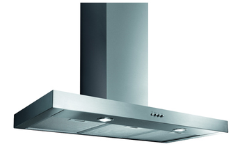 Hotte décorative murale BOX902SS INOX Proline