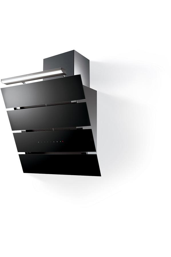 hotte d corative murale roblin creatix 800 vr noir 4329252 darty. Black Bedroom Furniture Sets. Home Design Ideas
