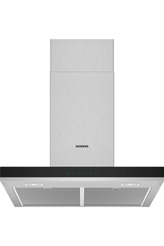 Hotte décorative murale Siemens LC66BHM50 Darty