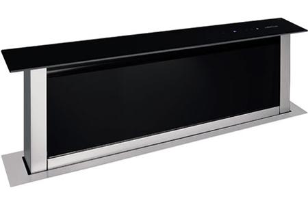 hotte escamotable airlux ahv98bk verre noir ahv98bk darty. Black Bedroom Furniture Sets. Home Design Ideas