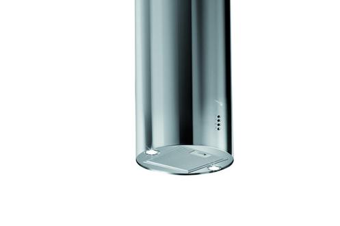 Hotte îlot 43 cms Débit d'air 603 m3/h Puissance acoustique 68 dB(A) Halogène 20 W
