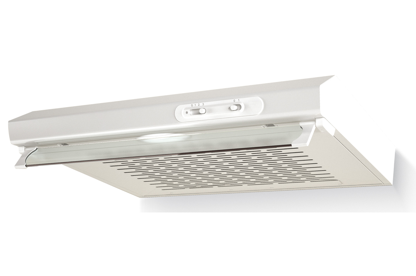 Hotte visi re proline shp60wh 4137167 darty for Prix des cuisines darty
