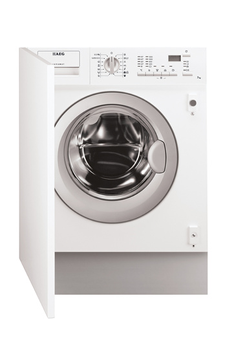 Lave linge encastrable L61270BI FULL Aeg