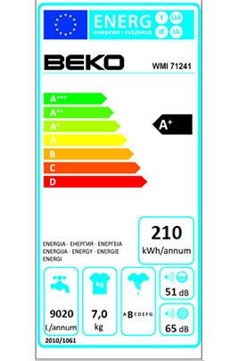 Beko WMI71241 BLANC