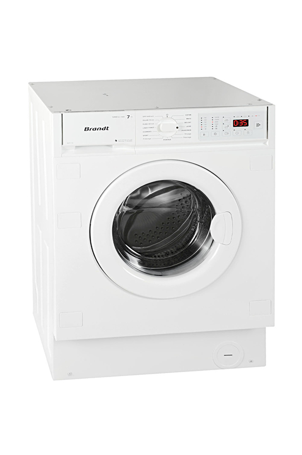 Lave linge encastrable brandt bwf172i 3492036 darty - Lave linge top brandt ...