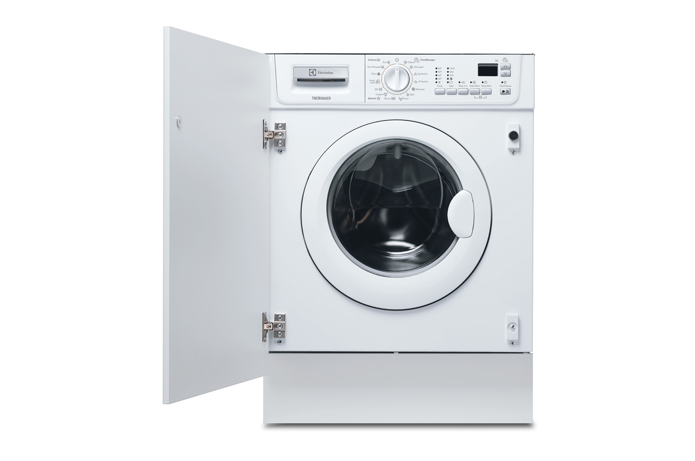 Lave linge encastrable electrolux ewg127410w full - Comment superposer machine a laver et seche linge ...