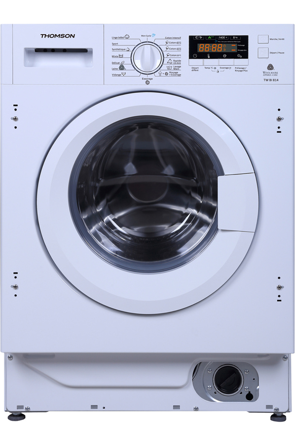 Lave linge encastrable thomson tw bi 612 4160681 darty for Consommation d eau machine a laver