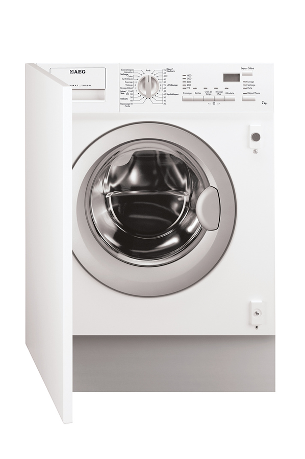 Charmant Lave Linge Sechant Fonction Vapeur #14: Lave Linge Sechant Encastrable L61470WDBI FULL Aeg
