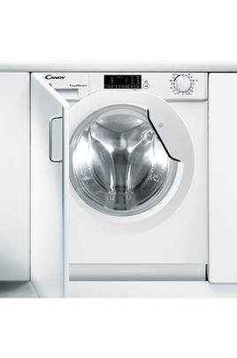 Capacité 8 kg en lavage (tambour ? L) - 5 kg en séchage Essorage max. 1400 tr/mn Départ différé jusqu'à 23 heures Classe énergétique A