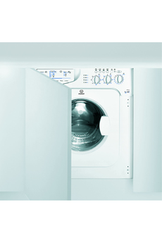 Lave linge sechant encastrable IWDE 127 EU Indesit
