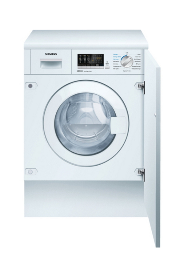 Lave linge sechant encastrable siemens wk14d541ff 4130413 - Meuble lave linge encastrable ...