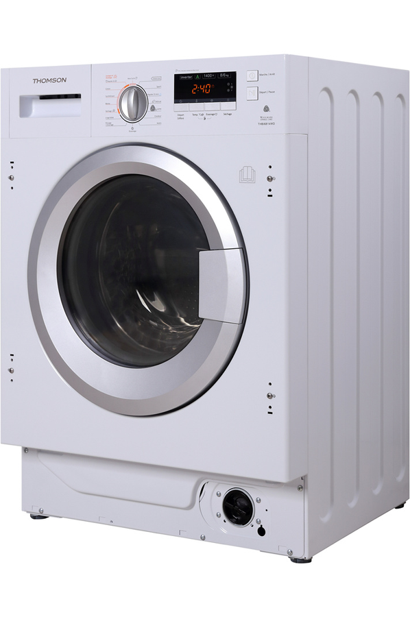 Lave linge sechant encastrable thomson thbi6814wd 4319079 darty - Lave linge encastrable darty ...