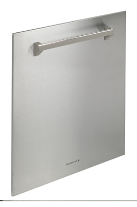 Habillage de porte de dietrich dkj811x inox 3573729 for Decoration porte lave vaisselle