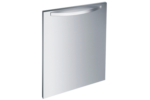 Habillage de porte pour lave-vaisselle Miele Pour lave-vaisselle full intégrable 60 cm Livrée avec poignée longue galbée inox