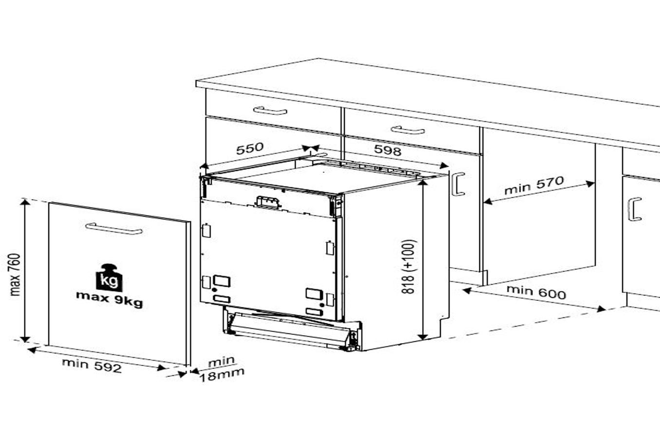 beko din28431 lave vaiselle electrom nager. Black Bedroom Furniture Sets. Home Design Ideas