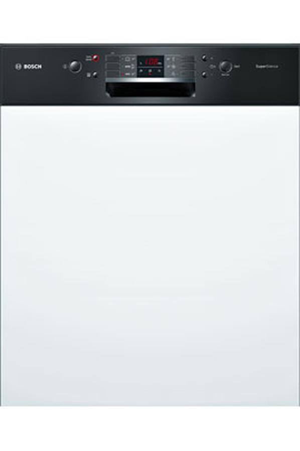 lave vaisselle encastrable bosch smi63m46eu noir. Black Bedroom Furniture Sets. Home Design Ideas
