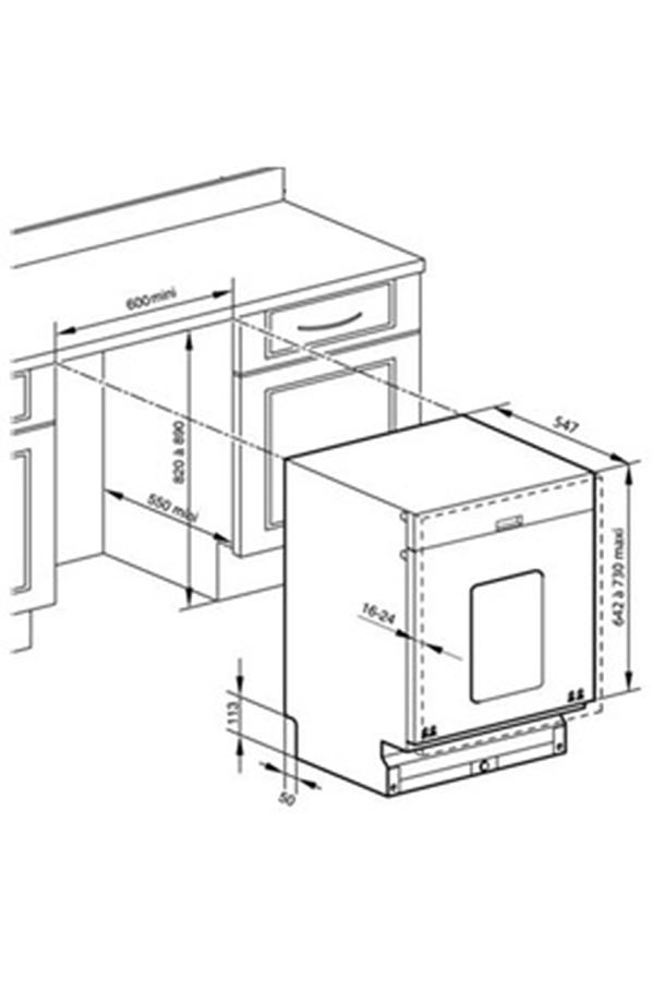 lave vaisselle encastrable brandt vh1235j full vh1235j. Black Bedroom Furniture Sets. Home Design Ideas