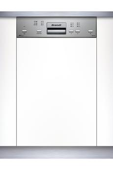 brandt dfh14104x lave vaisselle pose libre largeur 60 cm profondeur 58 cm hauteur. Black Bedroom Furniture Sets. Home Design Ideas