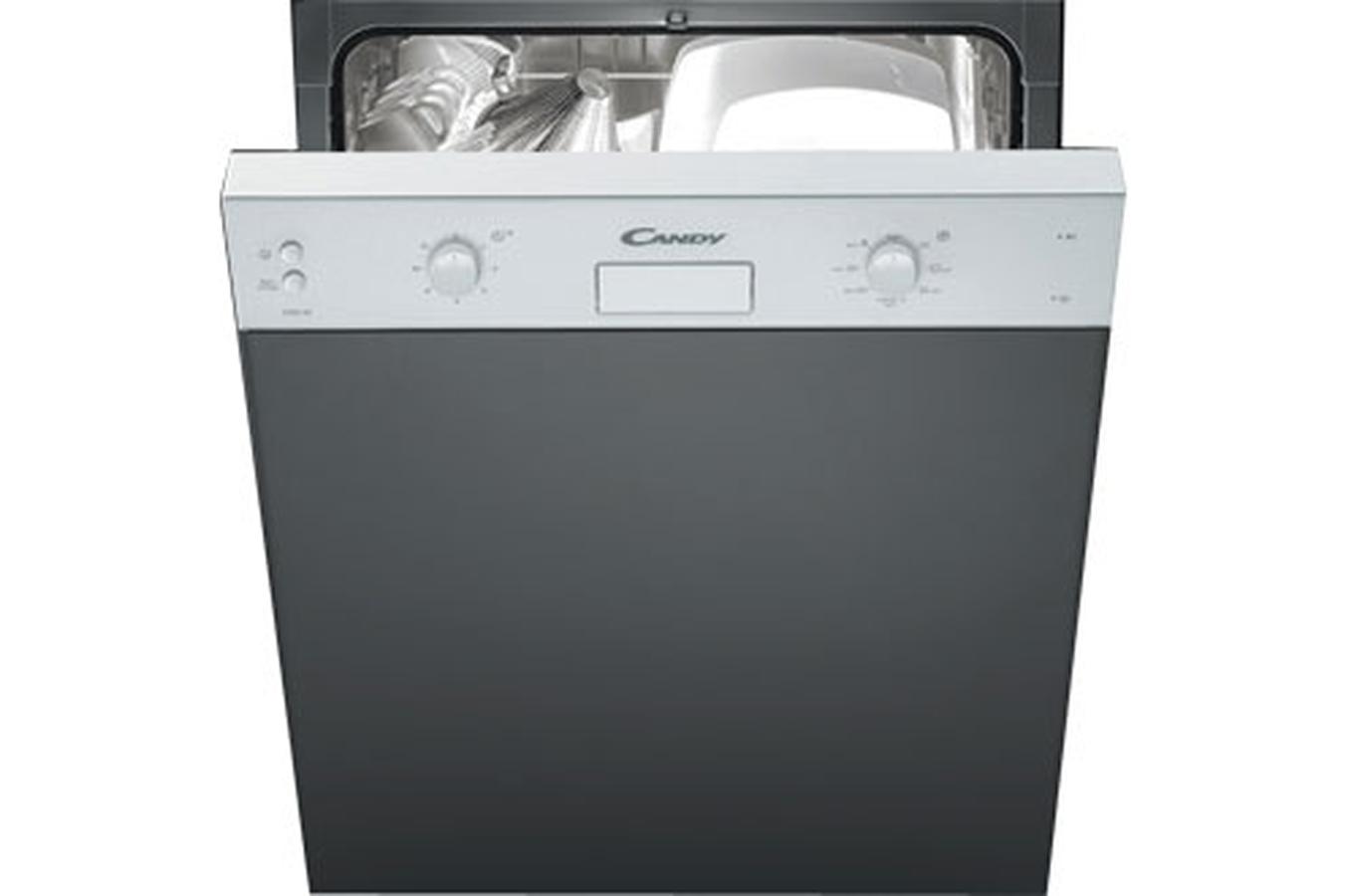 Lave vaisselle encastrable candy ceds30w e blanc ceds30w for Darty lave vaisselle integrable