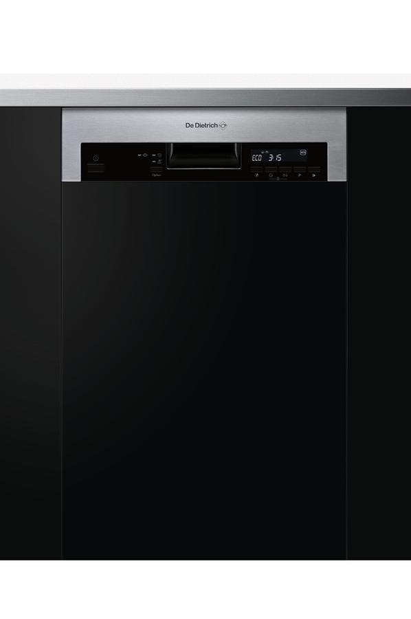 lave vaisselle encastrable de dietrich dvh1044x inox 4213238 darty. Black Bedroom Furniture Sets. Home Design Ideas