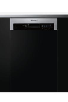 Lave vaisselle encastrable de dietrich dvh1044x inox