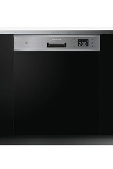 Encastrable - Largeur 60cm (15 couverts) - Niveau sonore 42 dB Consommation d'eau : 10 L/cycle - Classe A+++ Départ différé / Affichage temps restant Séchage ventilé - ICS+ (Intelligent Control System)