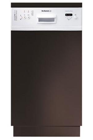 lave vaisselle encastrable de dietrich dvy 640 we1 bandeau blanc dvy640we1 darty. Black Bedroom Furniture Sets. Home Design Ideas