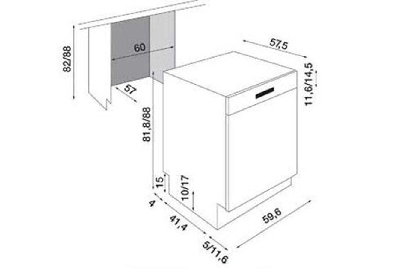 lave vaisselle encastrable electrolux asi64031x inox. Black Bedroom Furniture Sets. Home Design Ideas